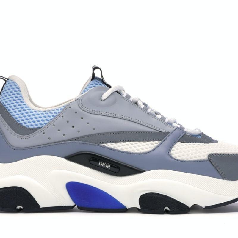 Dior B22 White Blue Men Women Dior Sneakers sizes 35-46 #99116289