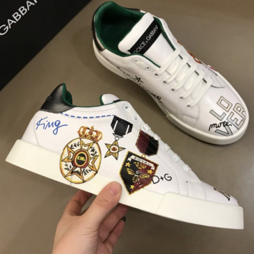 Dolce & Gabbana Top Quality Shoes for Men's D&G Sneakers #9116194
