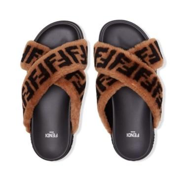 Fendi Sable slippers for women #99117531