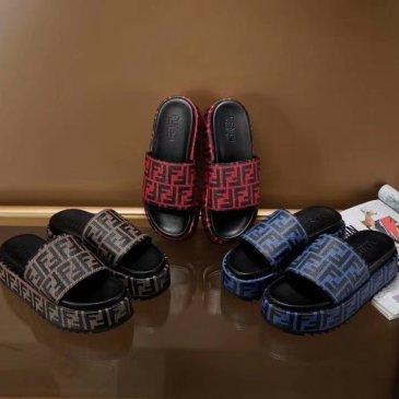 Fendi shoes for Fendi slippers for women #9874685