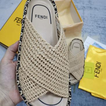 Fendi shoes for Fendi slippers for women #999901072