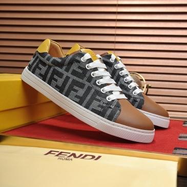 Fendi shoes for Men's Fendi Sneakers #99905986
