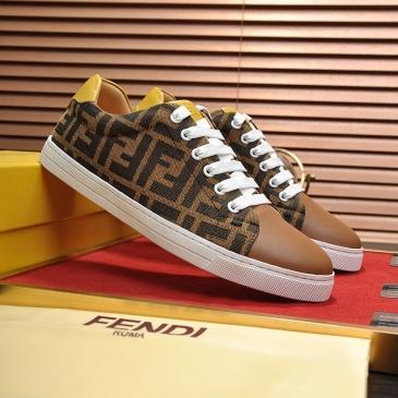 Fendi shoes for Men's Fendi Sneakers #99905987