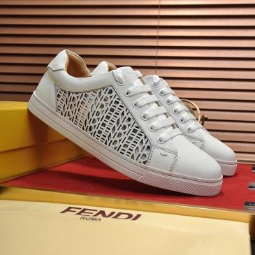 Fendi shoes for Men's Fendi Sneakers #99905993