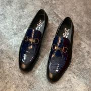Ferragamo shoes for Men's Ferragamo leather shoes #99904537