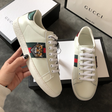 Gucci Sneakers Unisex casual shoes tiger #996819