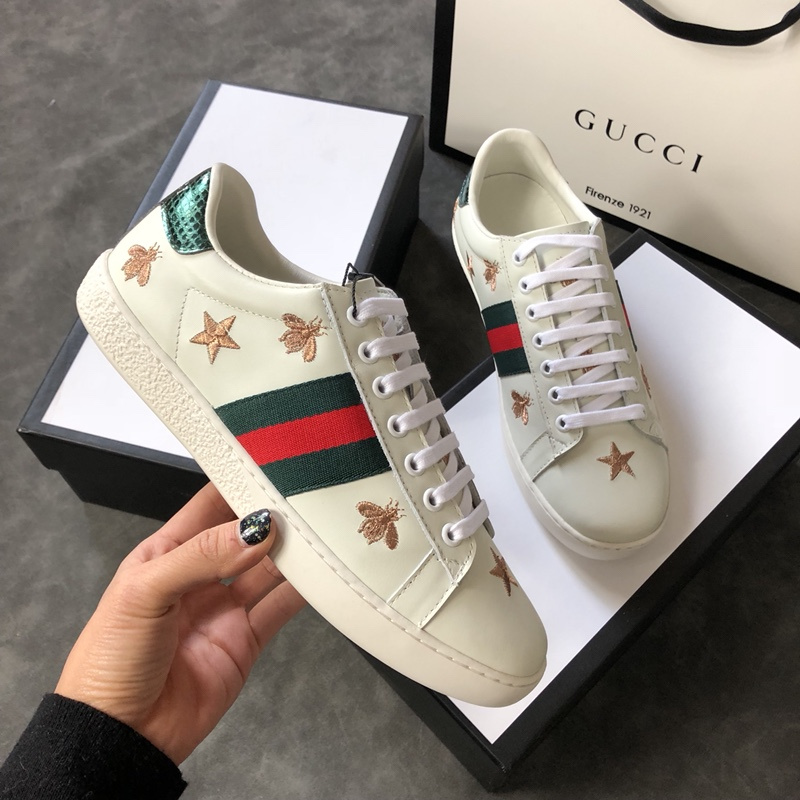 0ea7a24d5dd Gucci lovers Sneakers Unisex casual shoes  996788