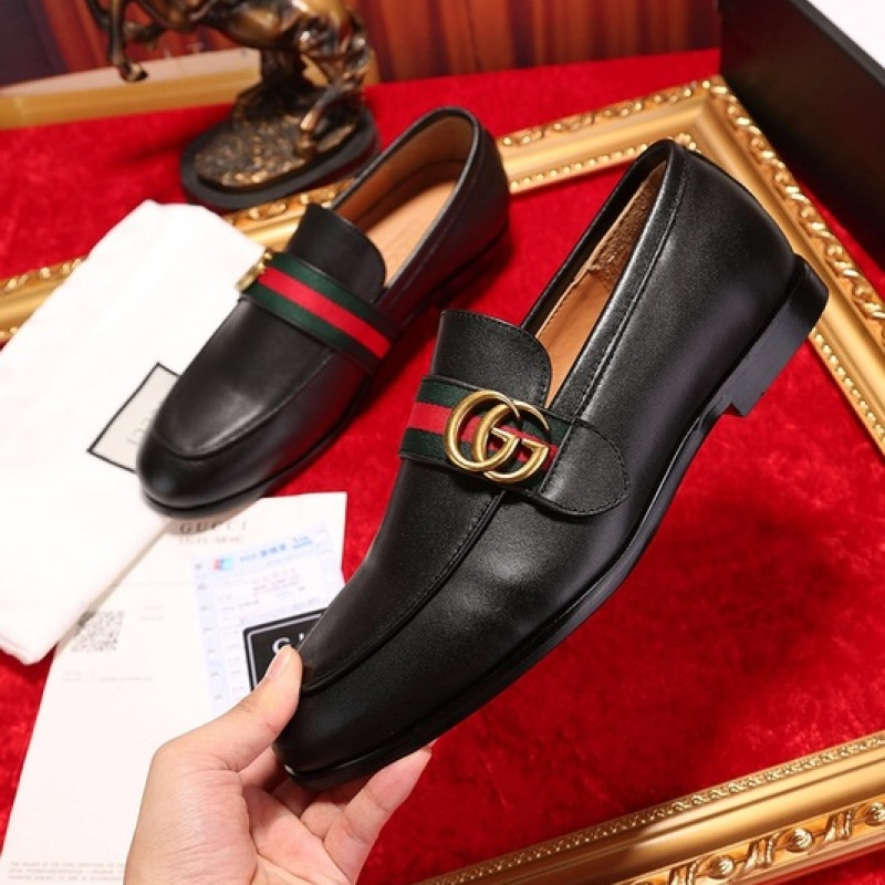 Gucci Shoes for Men's Gucci OXFORDS black #9105277