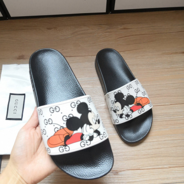 Gucci Slippers Gucci Shoes for Men and Women Mickey Mouse #9875192