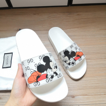 Gucci Slippers Gucci Shoes for Men and Women Mickey Mouse #9875193