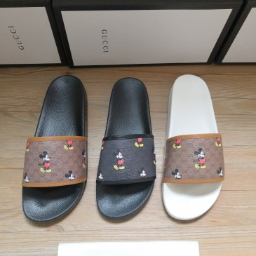 Gucci Slippers Gucci Shoes for Men and Women Mickey Mouse #9875195