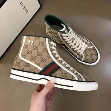 Gucci Shoes Tennis 1977 series high-top sneakers for Men and Women #99874251