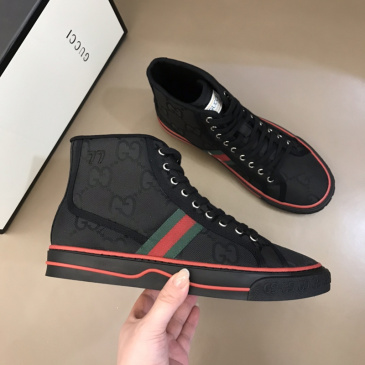 Gucci Shoes Tennis 1977 series high-top sneakers for Men and Women Black sizes 35-46 #99874254
