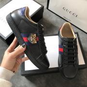 Men's Gucci original top quality Sneakers tiger black shoes #9102064