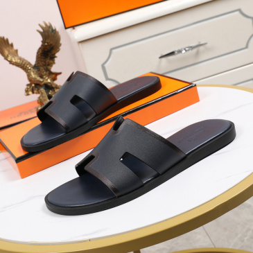 Luxury Hermes Shoes for Men's slippers shoes Hotel Bath slippers Large size 38-45 #9874706