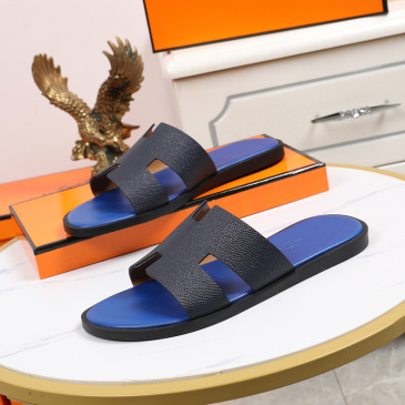 Luxury Hermes Shoes for Men's slippers shoes Hotel Bath slippers Large size 38-45 #9874713