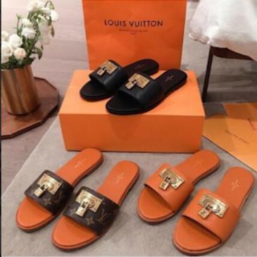 Louis Vuitton Shoes for Women's Louis Vuitton Slippers #99116008