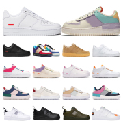 2020 Nike Mens women Platform fashion sneakers Shadow Pale Ivory black white Volt magic flamingo TOTAL ORANGE Wheat sports sneakers trainers #9874150