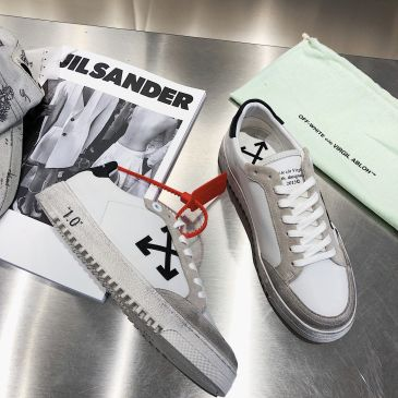 OFF WHITE 1.0 leather shoes for Men and women sneakers #99874555