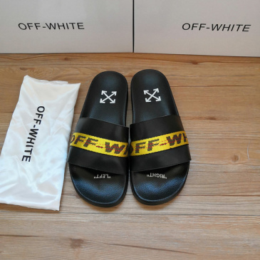 OFF WHITE Slippers for Men and Women #9874757