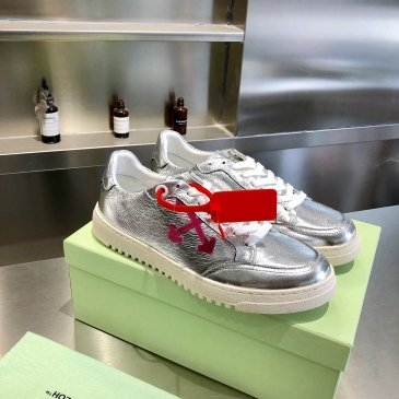 OFF WHITE leather shoes for Men and women sneakers #99874559