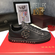 PHILIPP PLEIN new shoes Men's PHILIPP PLEIN Leather Sneakers black #9105067