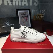 PHILIPP PLEIN new shoes Men's PHILIPP PLEIN Leather Sneakers white #9105058