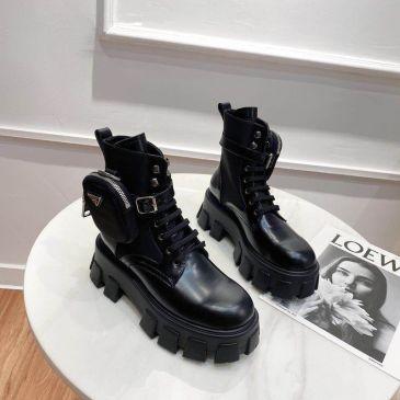 Prada Shoes for Women's Prada 2020 Martin boots heel height 6cm #99874764