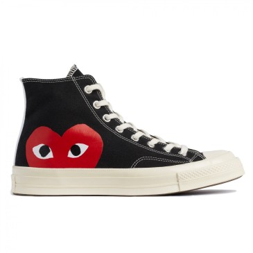Converse plimsolls 1970s CDG PLAY sneakers #9120852