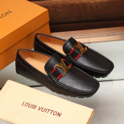 LV leather Shoes for MEN black #999849