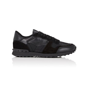 Valentino Shoes for Men's Valentino black Sneakers #9115925