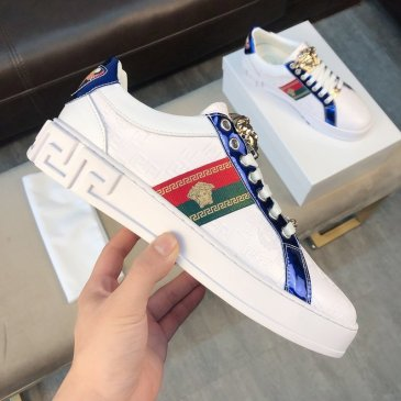 Discount Versace shoes for Men's Versace Sneakers #9875574