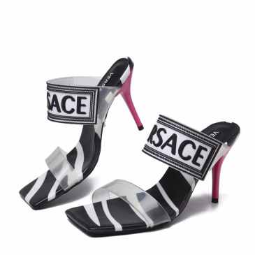 2020 Versace 9.5cm Highest Quality shoes Sandals for woman #9874695