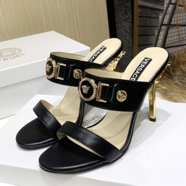 Wholesale Versace 10cm Highest Quality shoes for woman #9874699