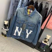 NY Gucci Jean Jackets for  women #99117642