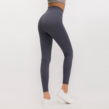 Merillat autumn new no embarrassment line high waist buttocks elastic sports nude yoga pants women #999901193